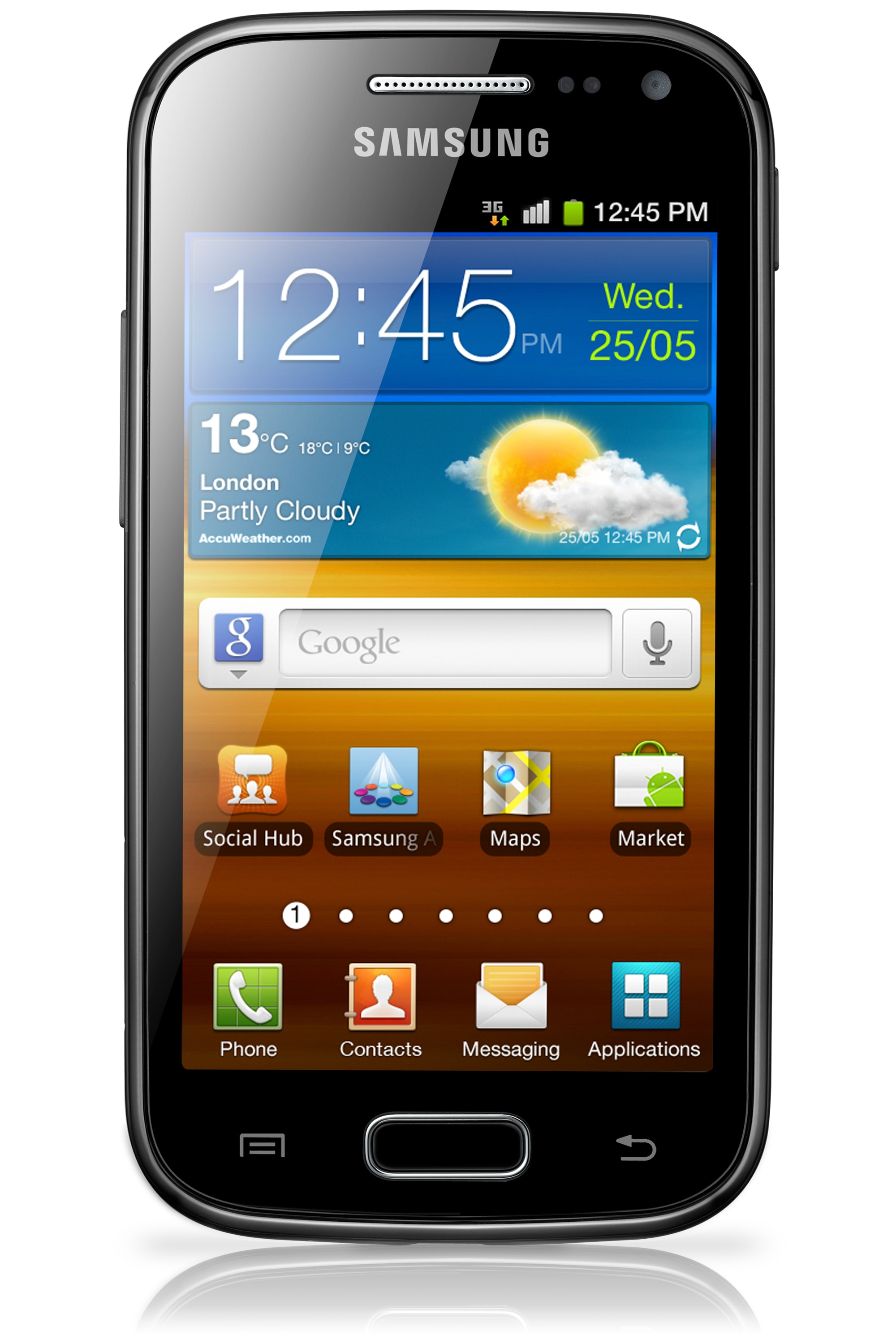 Samsung Galaxy Ace 2 - Android 2.3 - 5MP Camera Phone