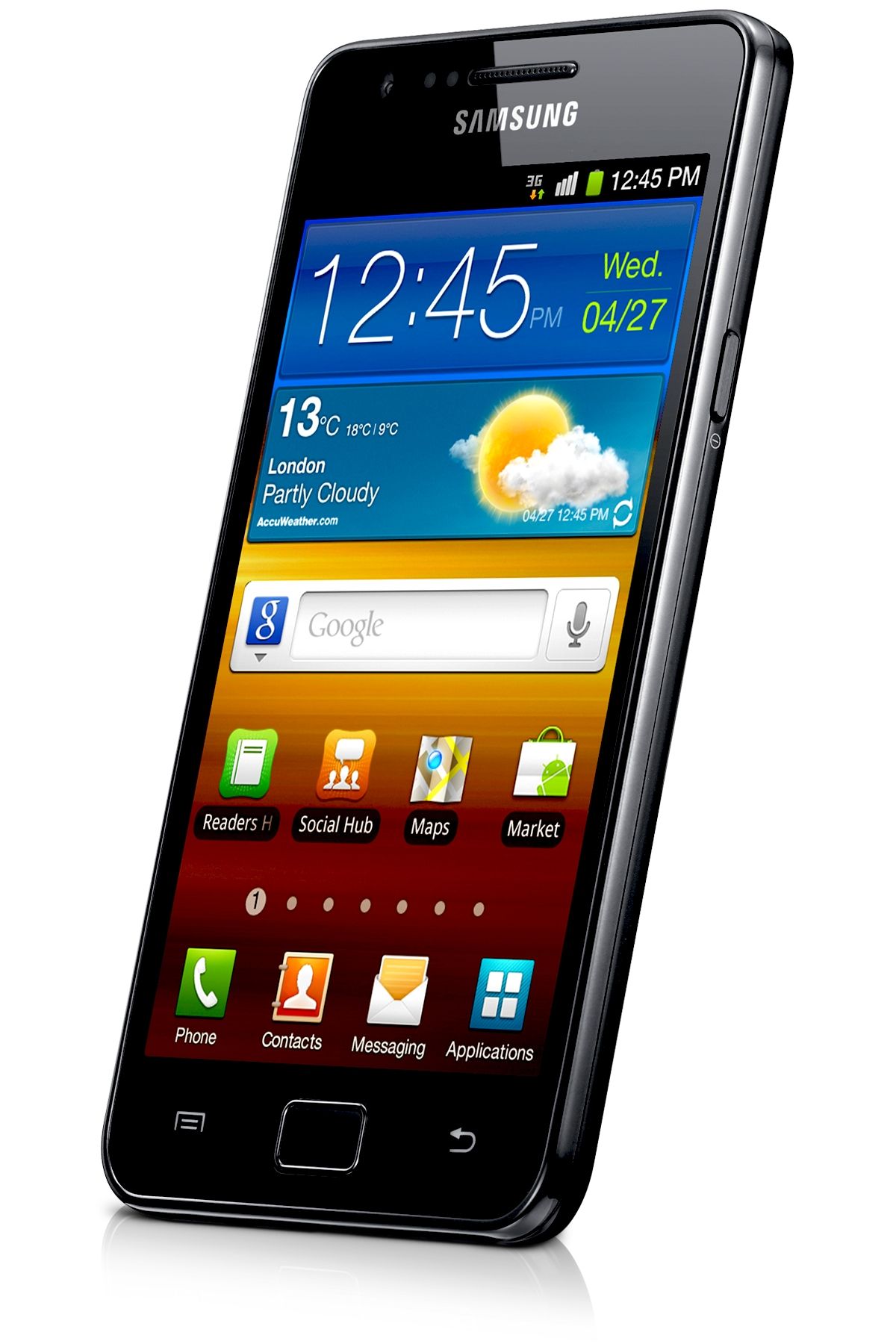 Samsung Galaxy S2 Smartphone 5 5 Display Features Black