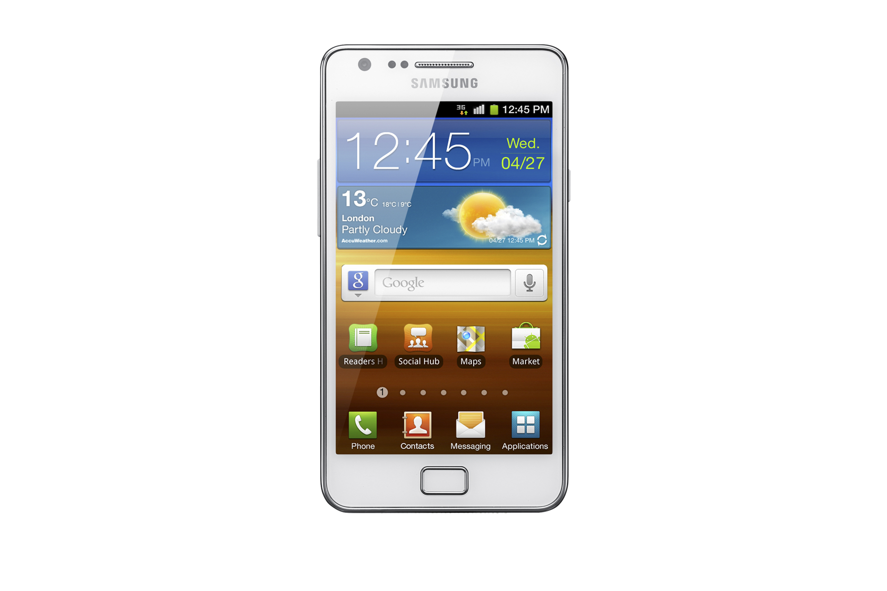 GT-I9100 Galaxy S II White