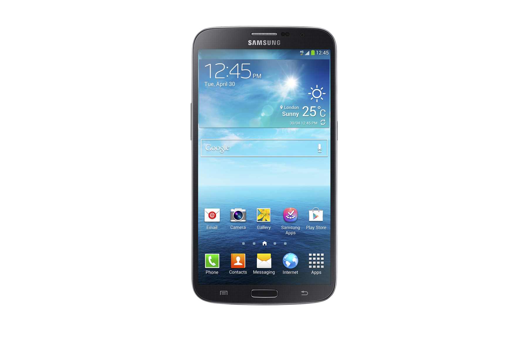 Galaxy Mega (Black)
