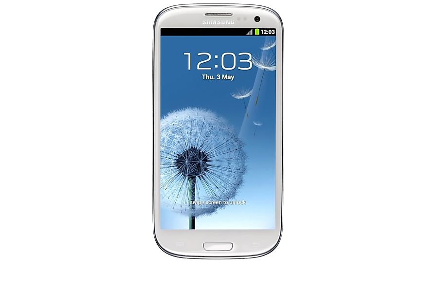 GT-I9300 Galaxy S III(White) Front