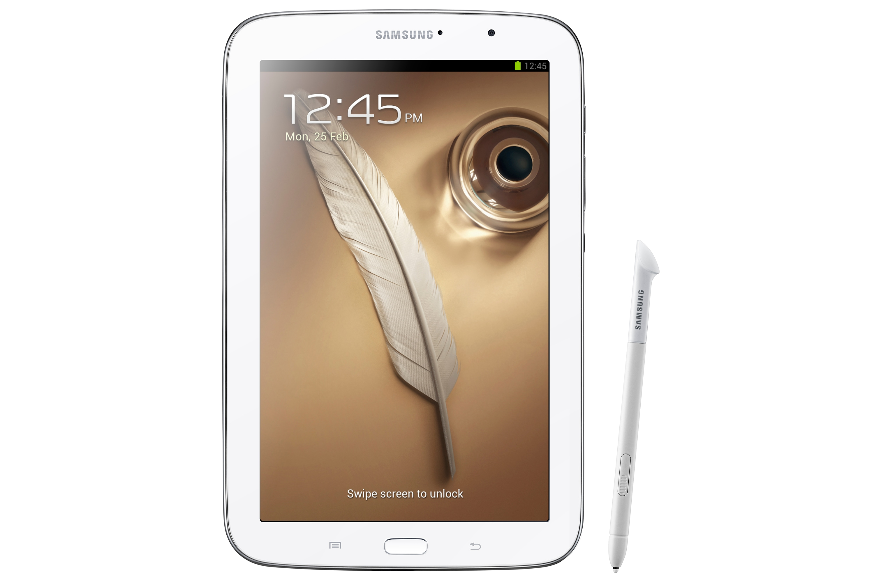 GT-N5110 Galaxy Note 8.0 Wi-Fi (White) Front