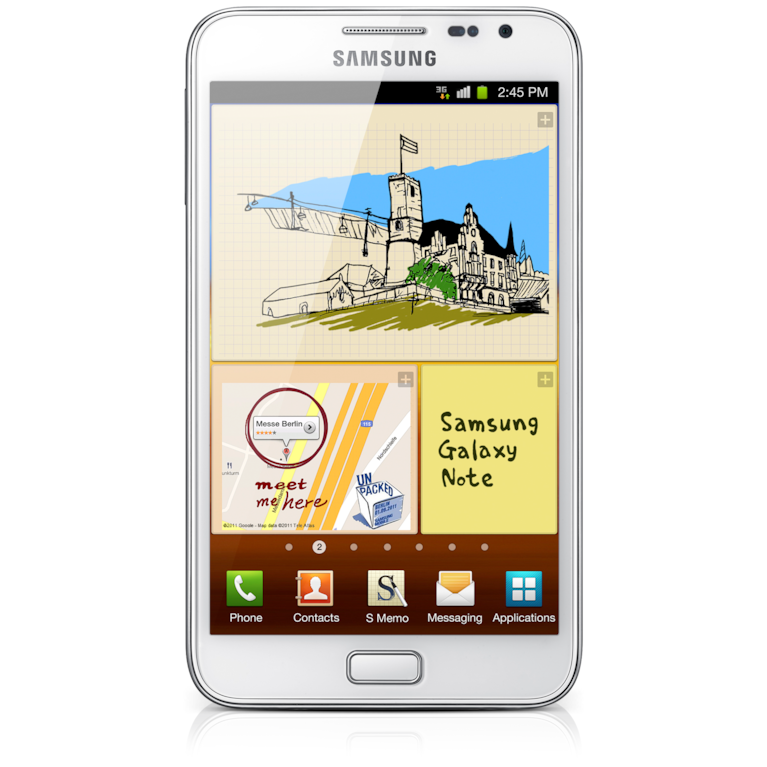 Galaxy Note White