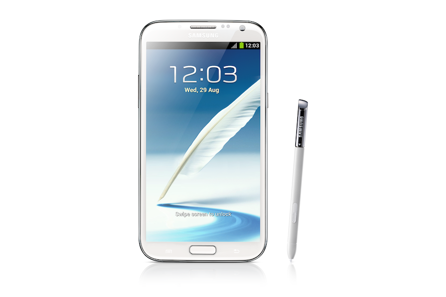 Galaxy Note II (White)