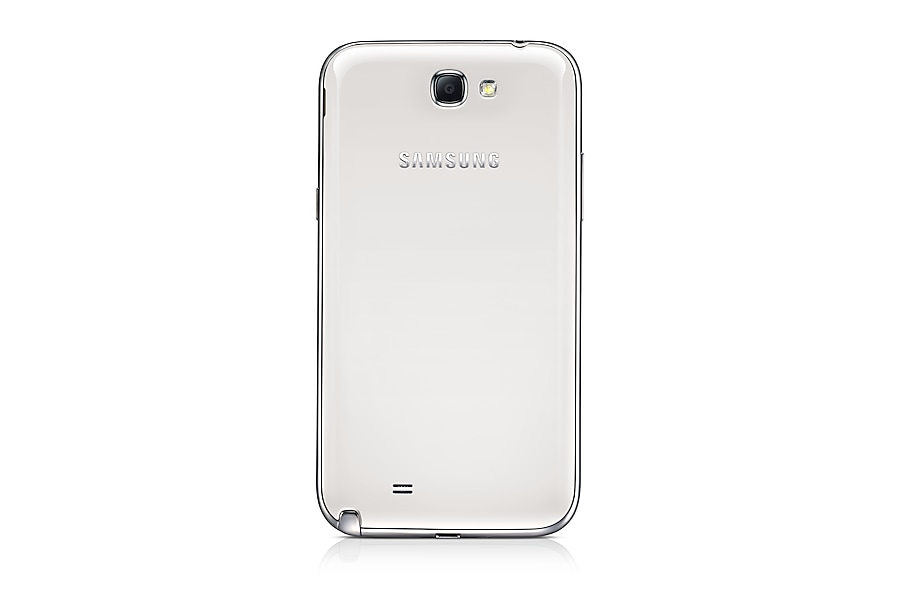 GT-N7100 Galaxy Note II (White) Back