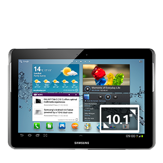 Galaxy Tab 2 10.1 3G & Wi-Fi (Black)