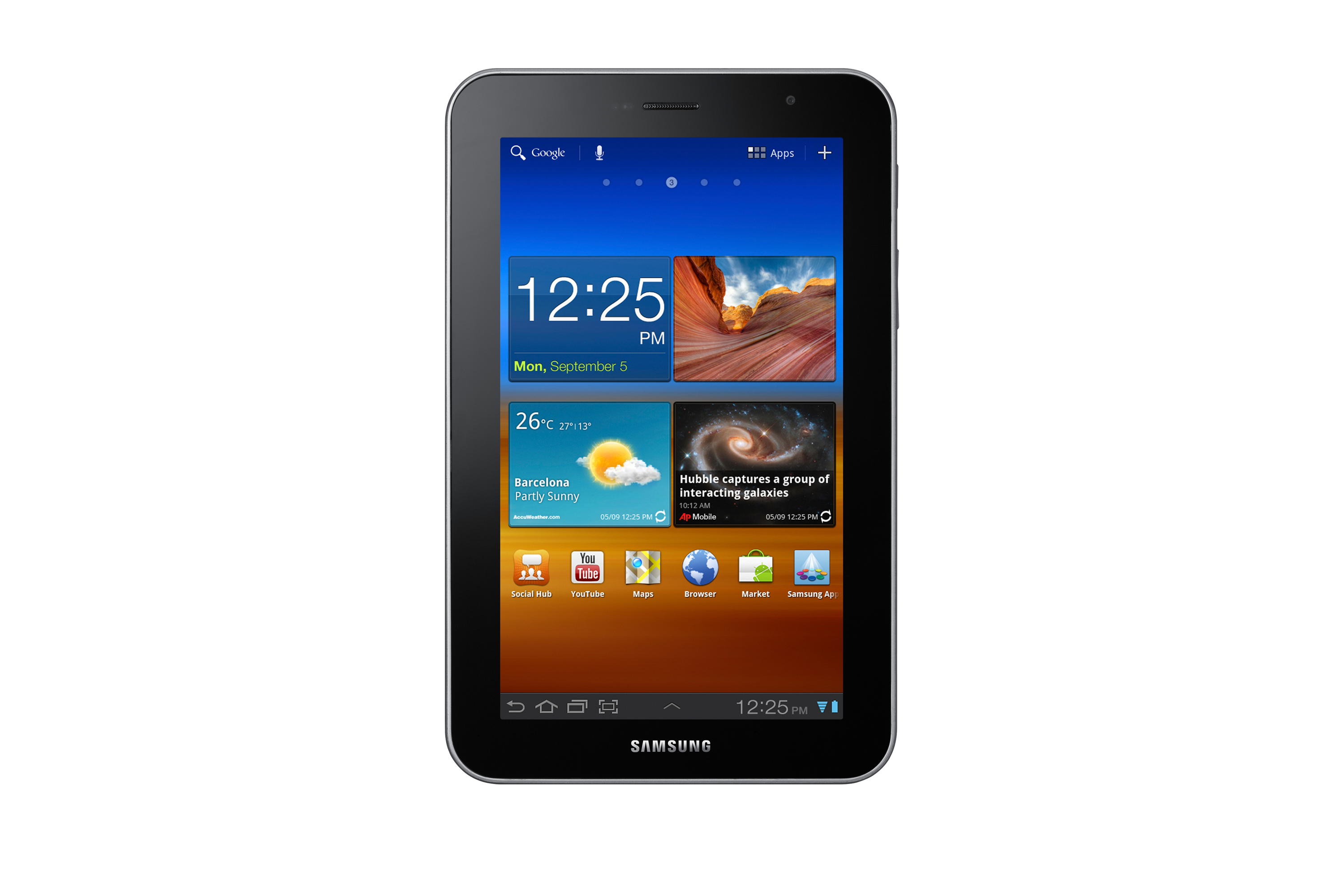 GT-P6210 Galaxy Tab 7.0 Plus (Wi-Fi)