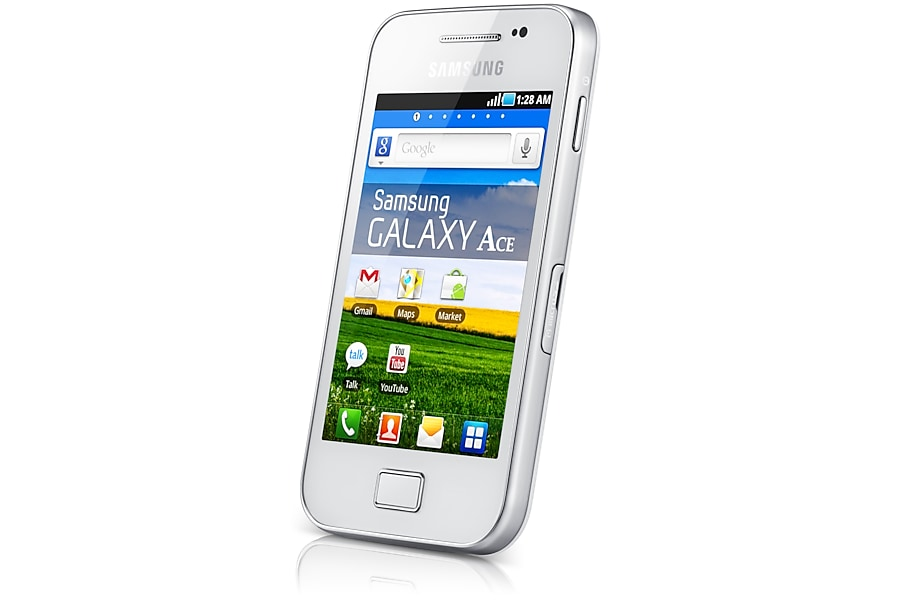 Galaxy Ace (White)