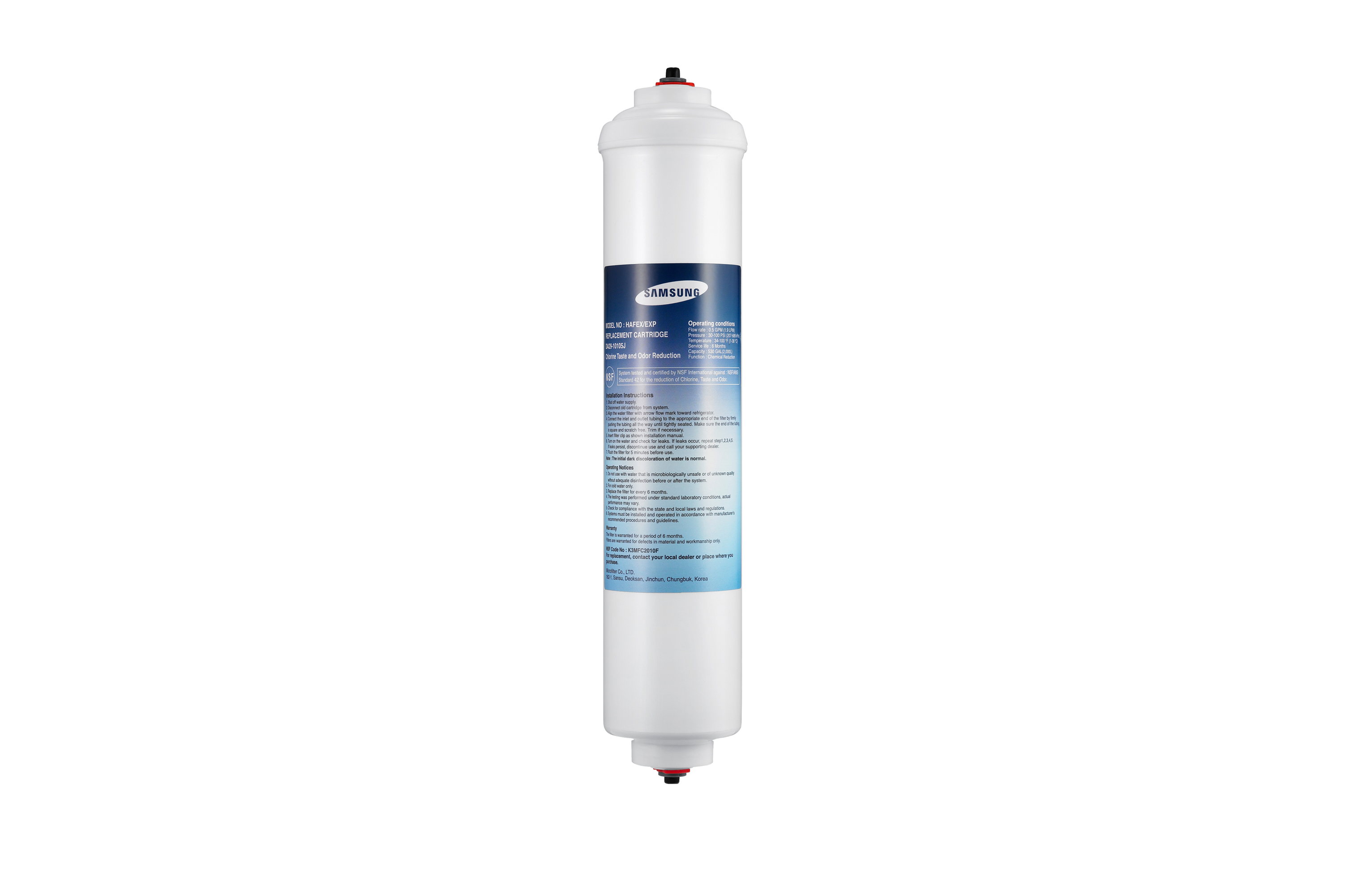 HAFEX/EXP HAFEX Genuine Samsung Water Filter