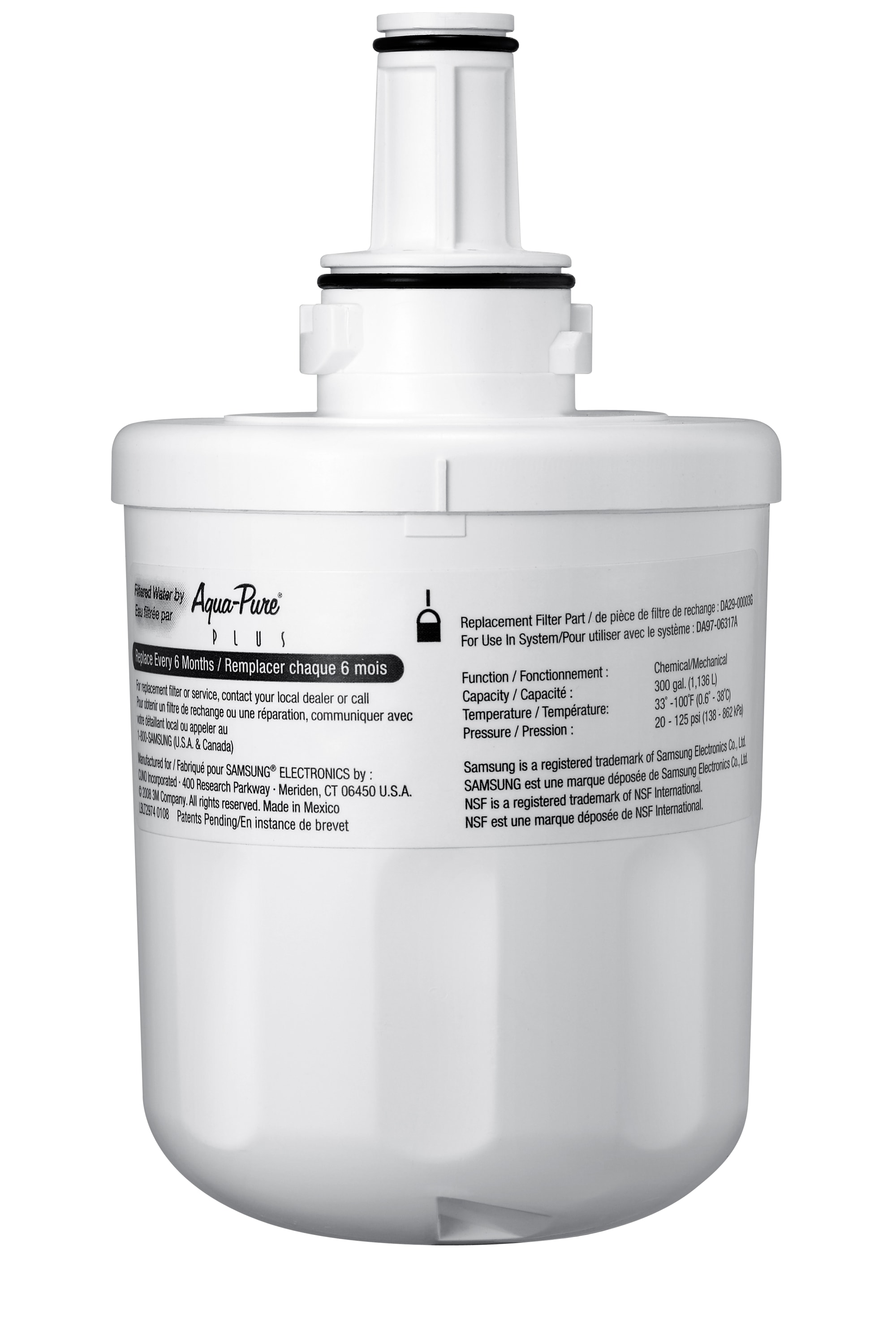 HAFIN2/EXP Genuine Samsung Water Filter Front