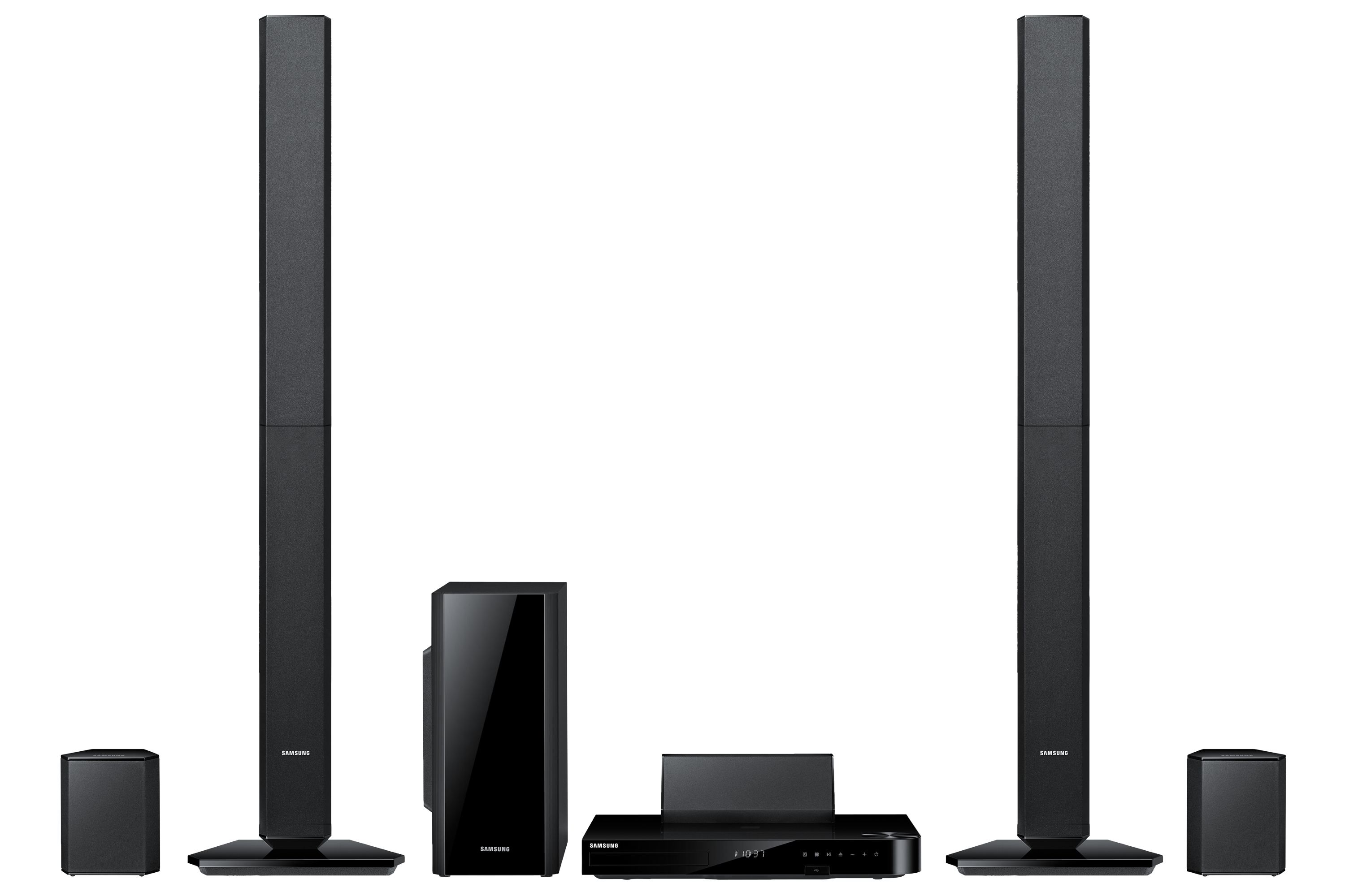 HT-F5530 5 Speaker Smart 3D Blu-ray & DVD Home Theatre System Front Black