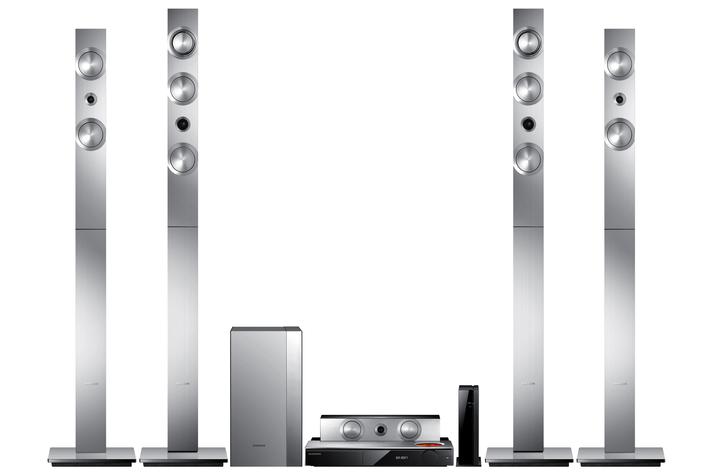 HT-F9750W Silver Front Set