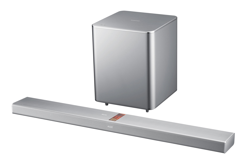 HW-F751 HW-F751 Soundbar Silver Front Set R