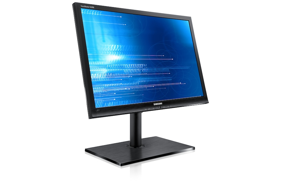 27 S27A850D Series 8 LED Business Monitor S27A850D Left angle Black