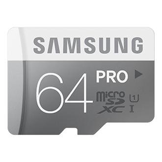 PRO 64 GB microSDXC Card