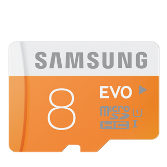 MB-MP08D Micro SDHC EVO Memory Card (8GB)<br/>