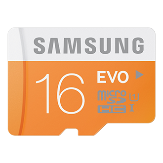 MB-MP16D Micro SDHC EVO Memory Card (16GB)