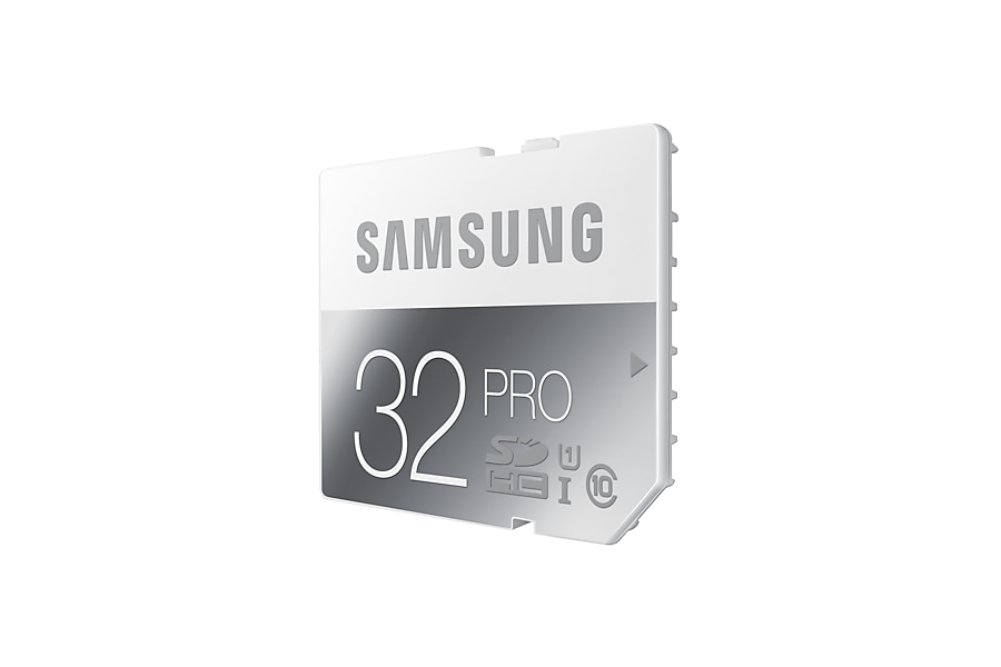 MB-SG32D SDHC Pro Memory Card (32GB) R Perspective Grey