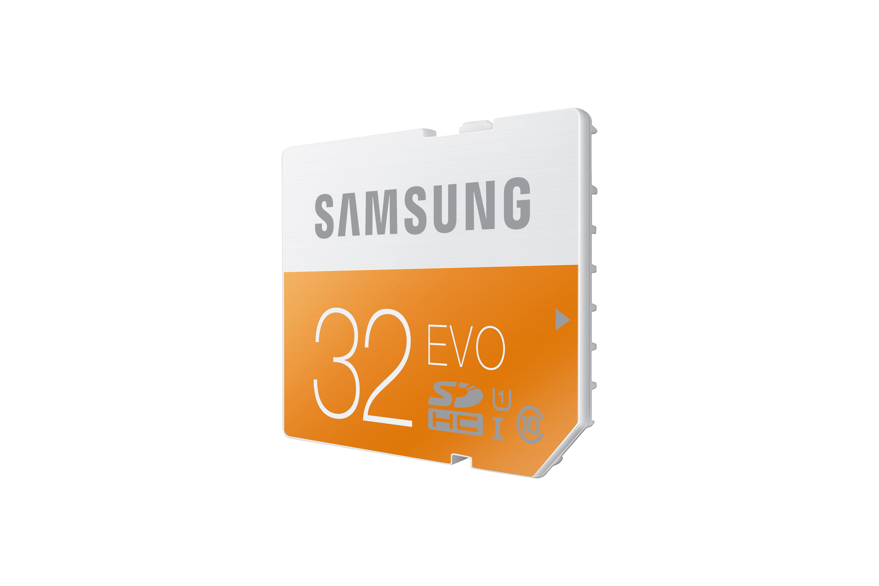 MB-SP32D SDHC EVO Memory Card (32GB) L Perspective Orange