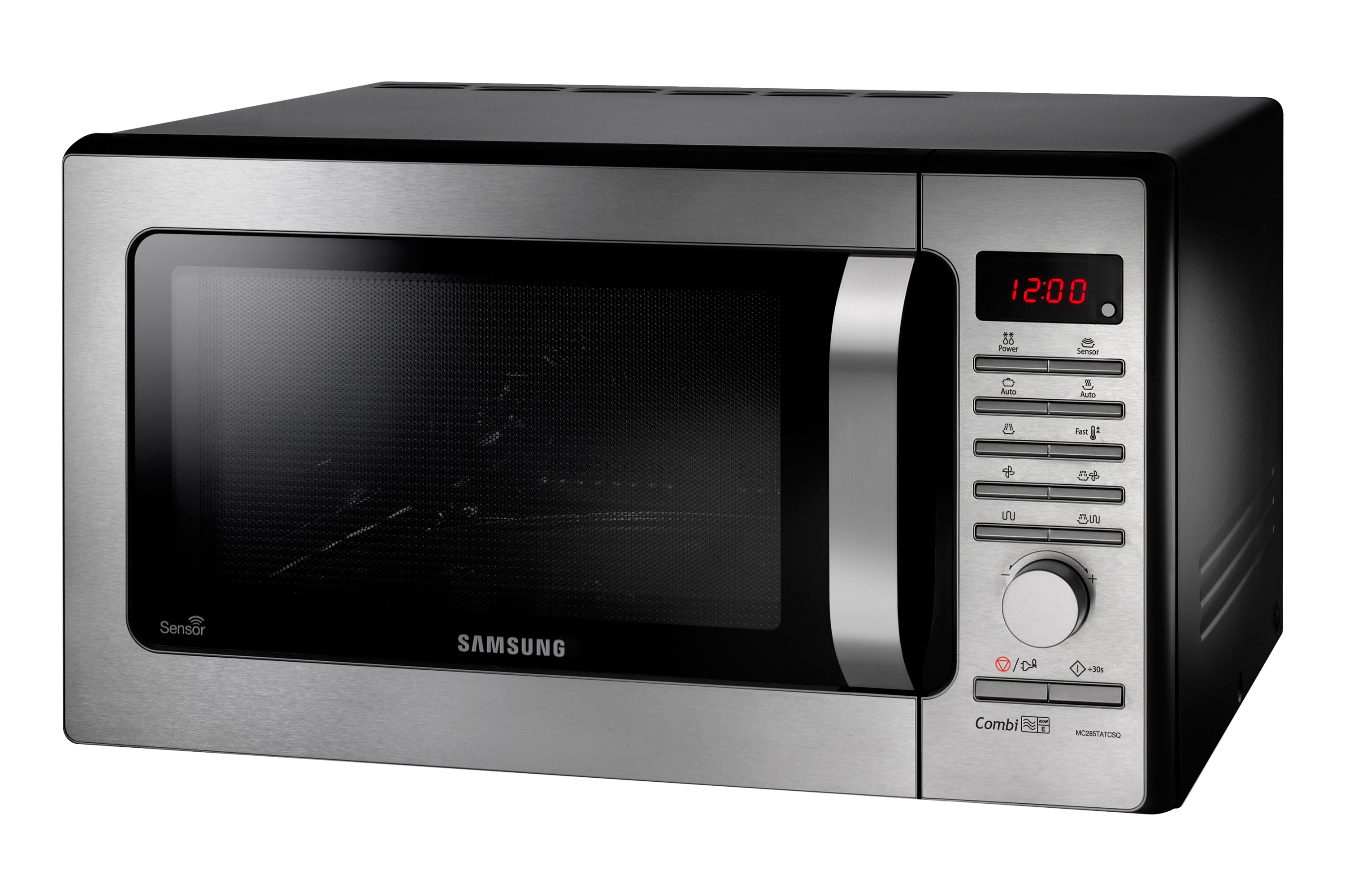 MC285TATCSQ/EU 28 Litres Stainless Steel Combination Microwave with sensor Front Dynamic