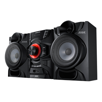 MX-H630 Mini Audio System 230W (Bluetooth) R Side Black