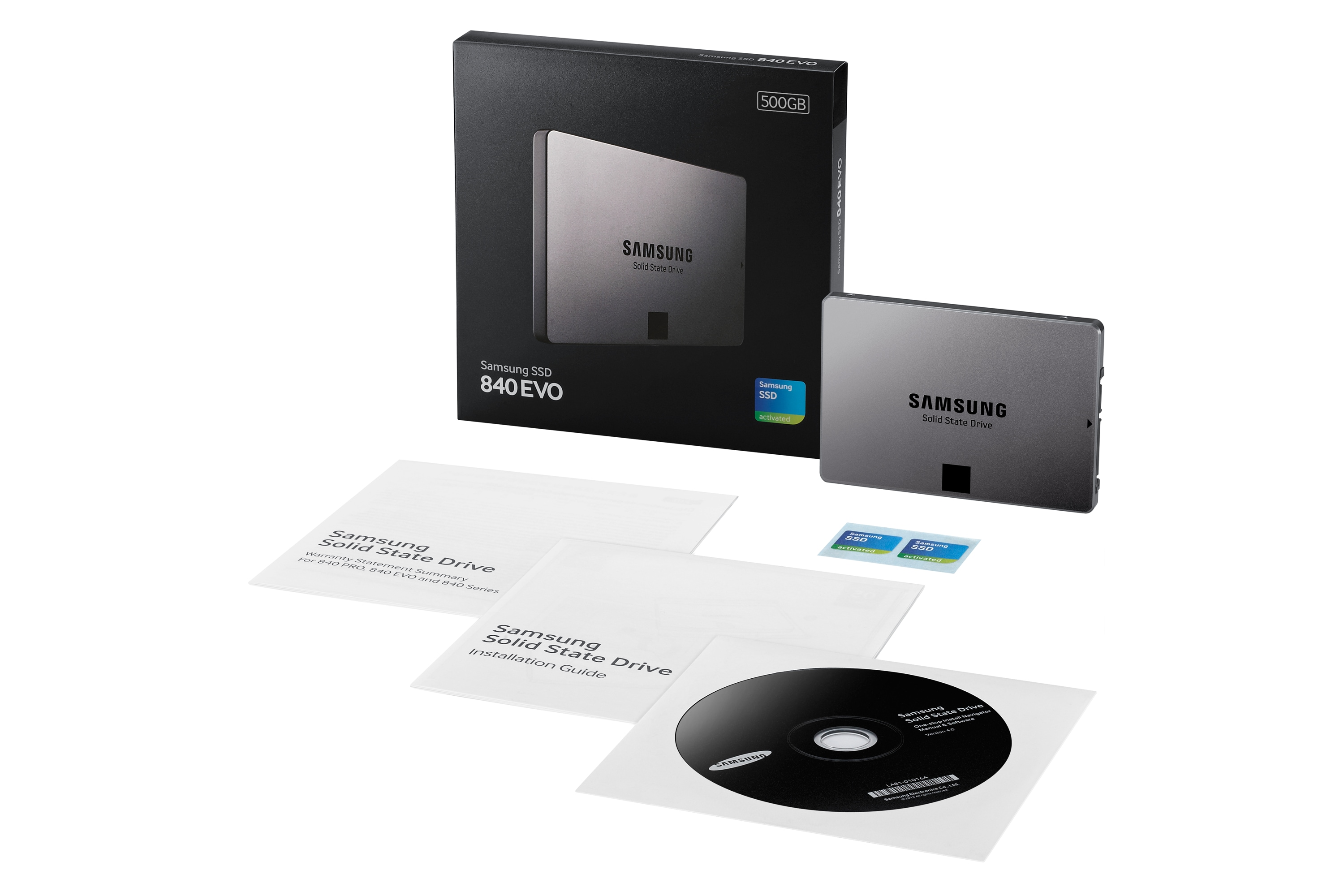 MZ-7TE500 500GB 2.5-inch 840 EVO SSD Pack grey