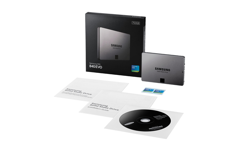 750GB 2.5-inch 840 EVO SSD
