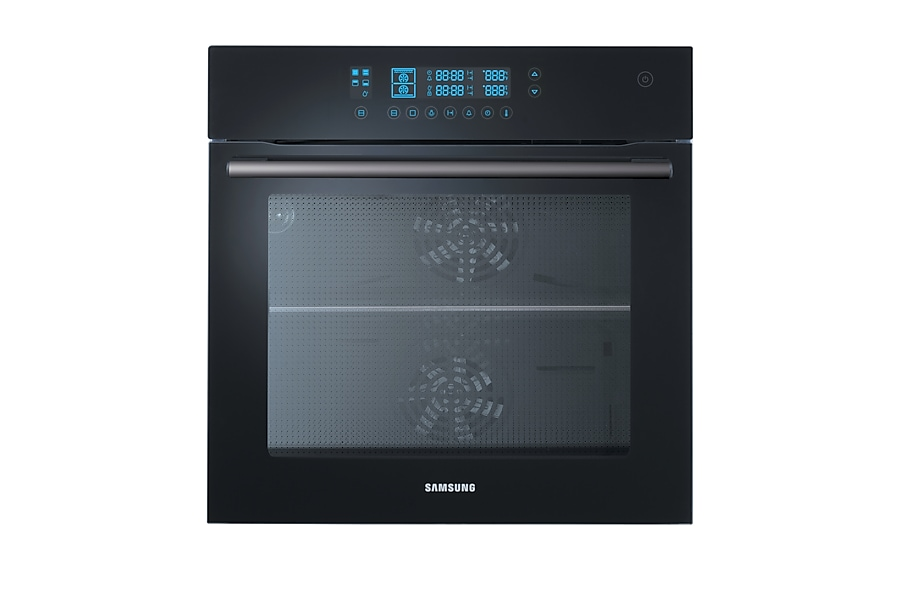 NV70F5787LB Prezio Dual Cook™ Electric Oven Front2 Black
