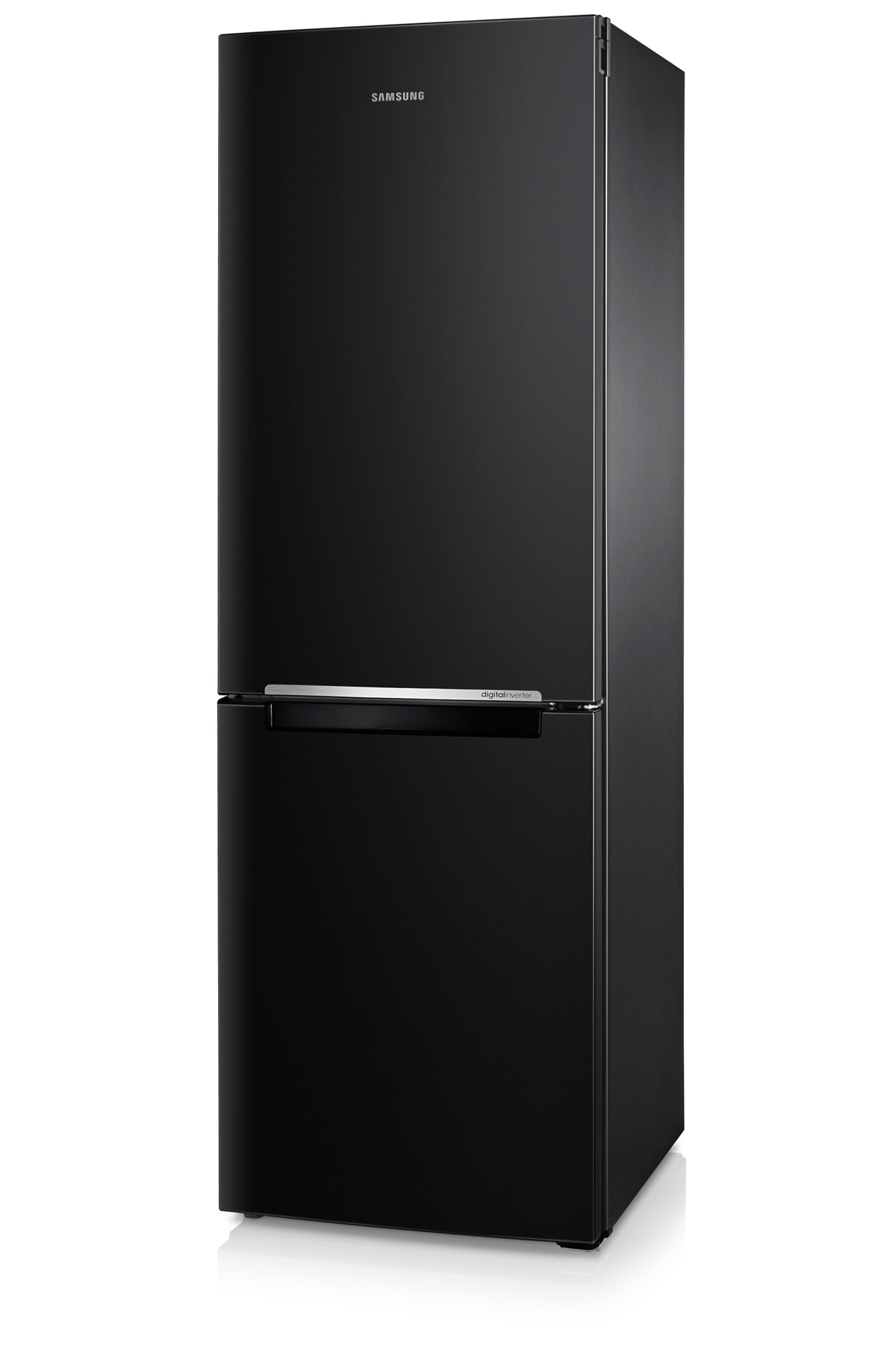 RB29FSRNDBC Fridge Freezer Right perspective Black
