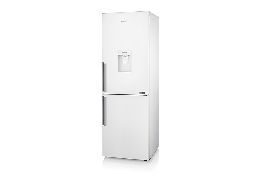 RB29FWJNDWW Fridge Freezer Right perspective White