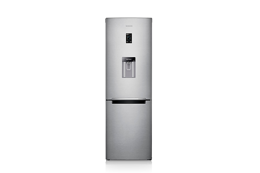 RB31FDRNDSA Fridge Freezer Front2 Silver