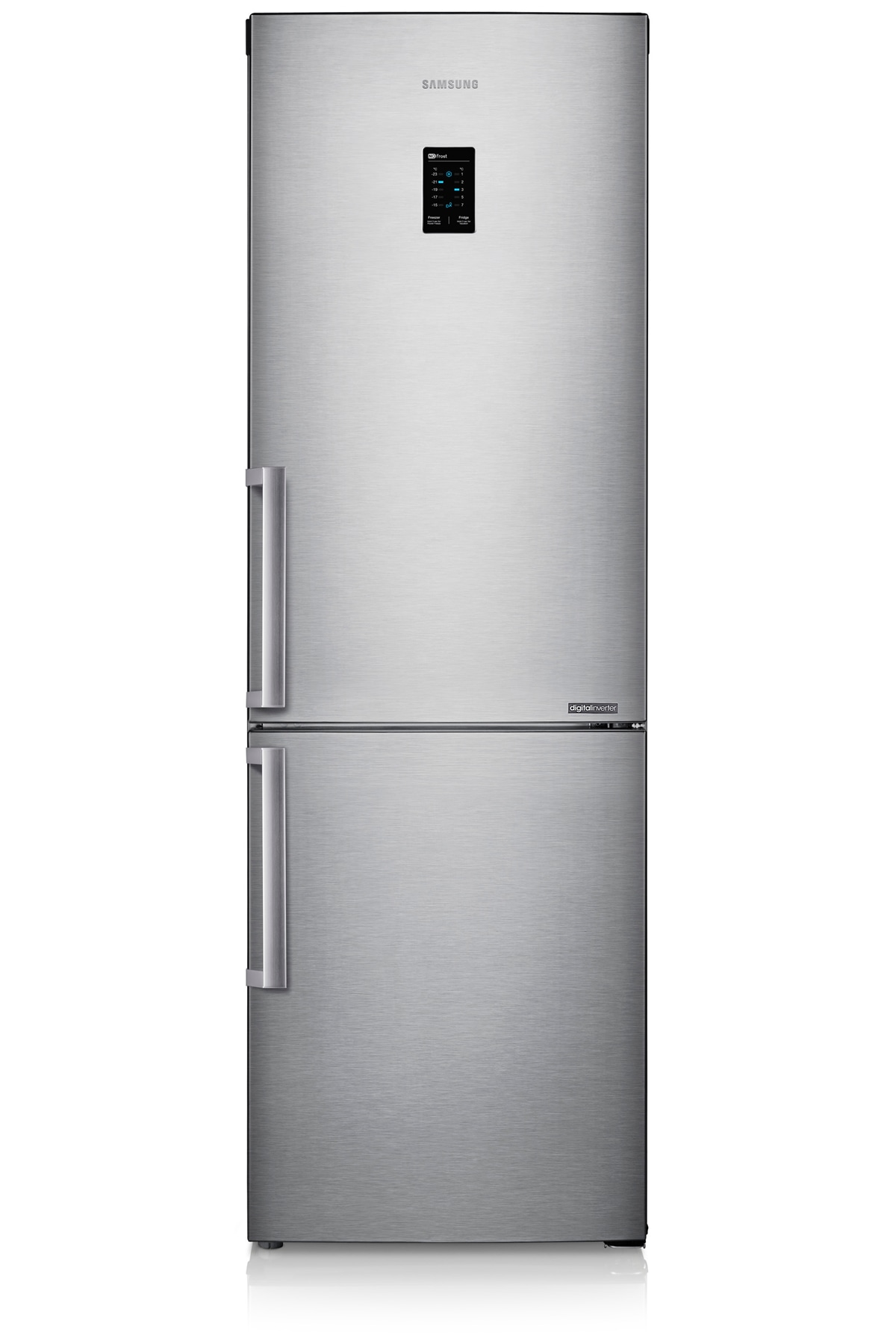 RB31FEJNDSA Fridge Freezer Front2 Silver