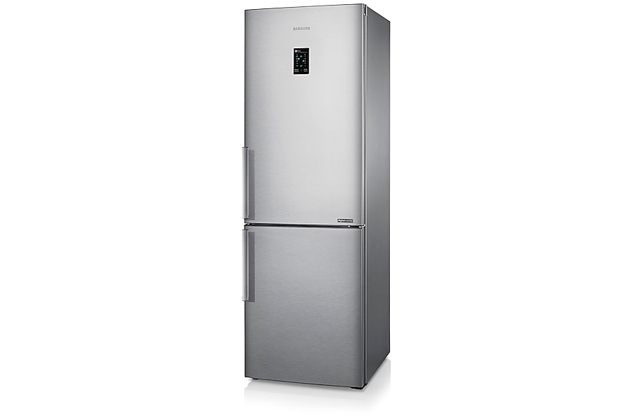 RB31FEJNDSA Fridge Freezer Right perspective Silver