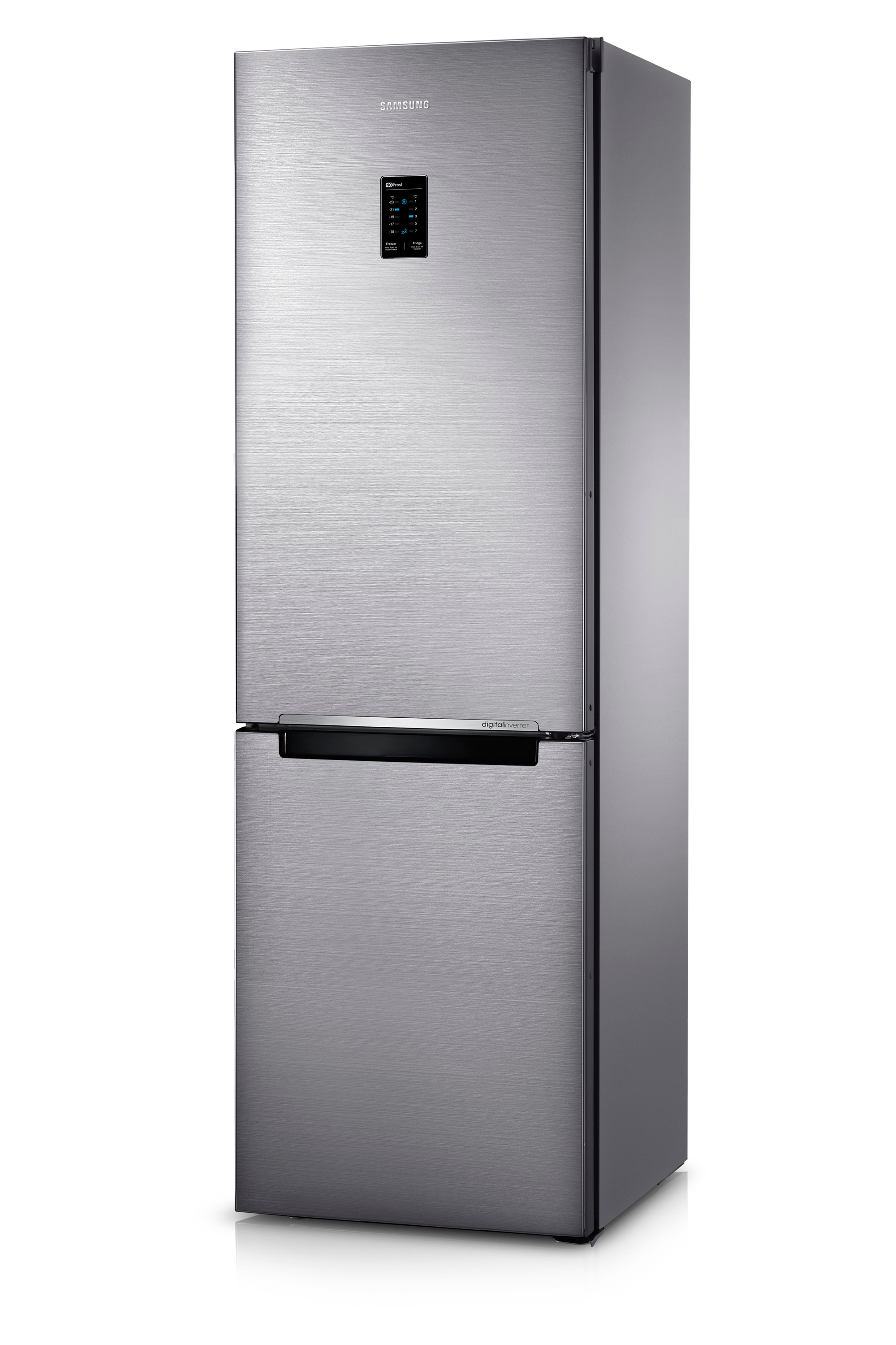 RB31FERNDSS Fridge Freezer Front3 Silver