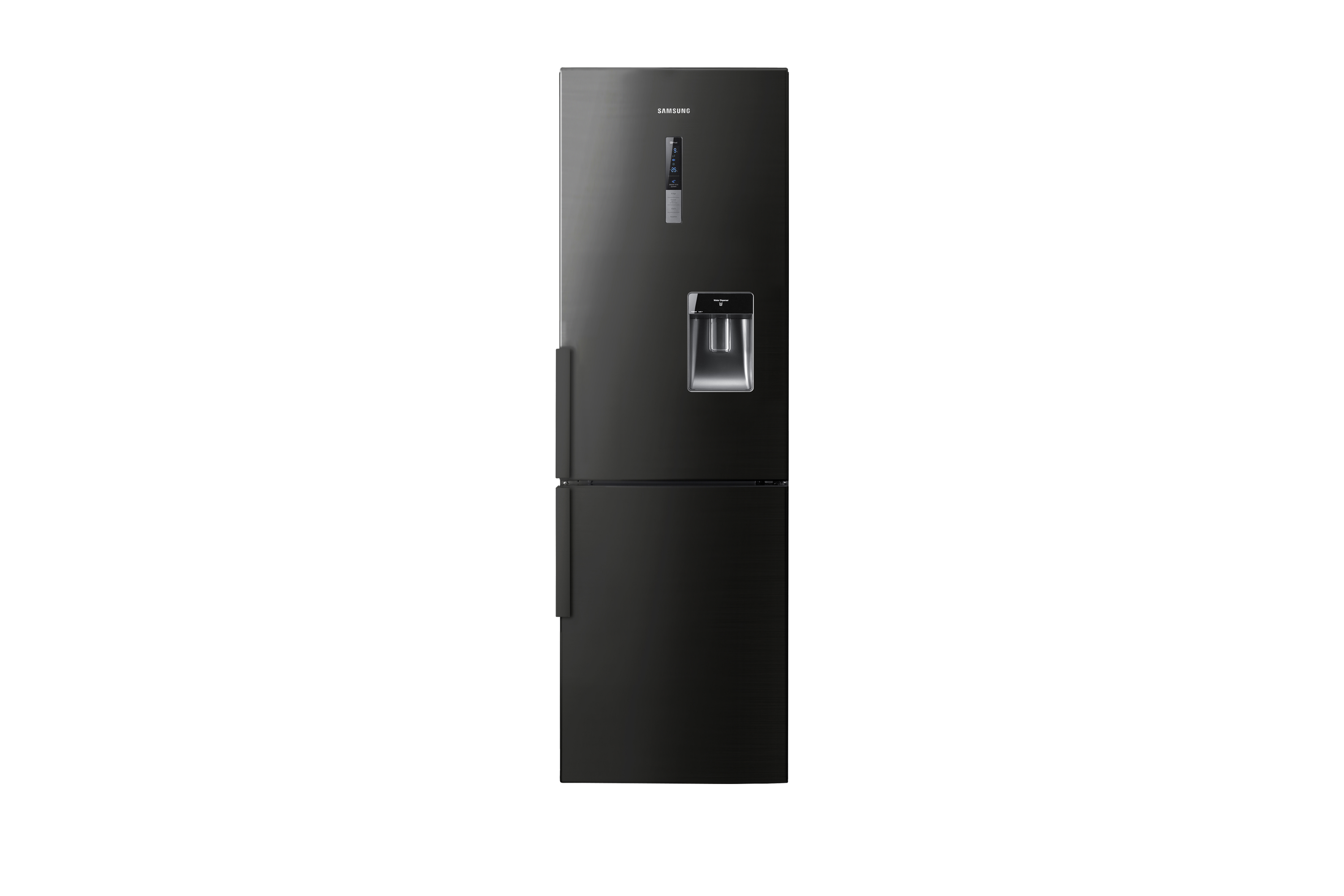 RL56GWGBP G-Series Fridge Freezer Front Open Black