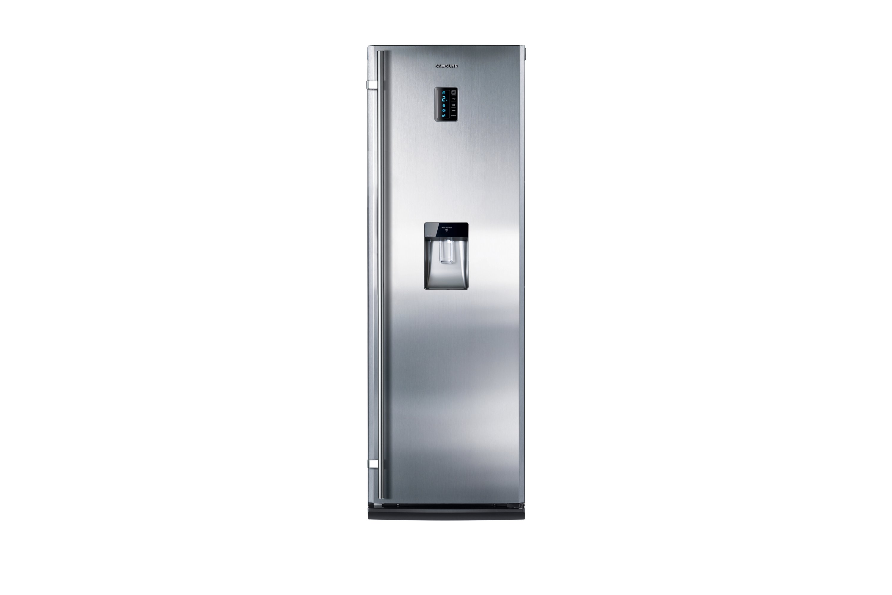 TWIN 1 Door with No Frost, 353 L, Real Stainless