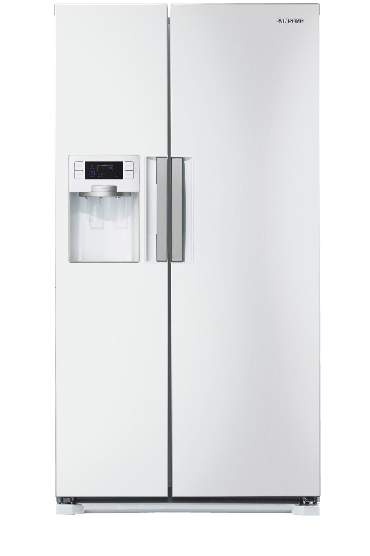 RSH7UNSW H-Series American Style Fridge FreezerFront2 White