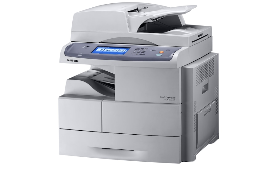 SCX-6555NX Laser Multifunction Printer 6555NX Right Angle