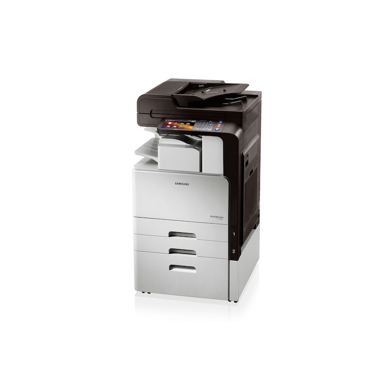 SCX-8128NA 28ppm A3 Mono Multifunction Printer 8128NA Right 30-Angle white