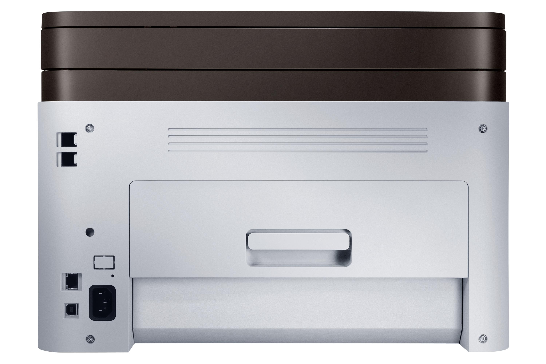 SL-C460W Back Silver
