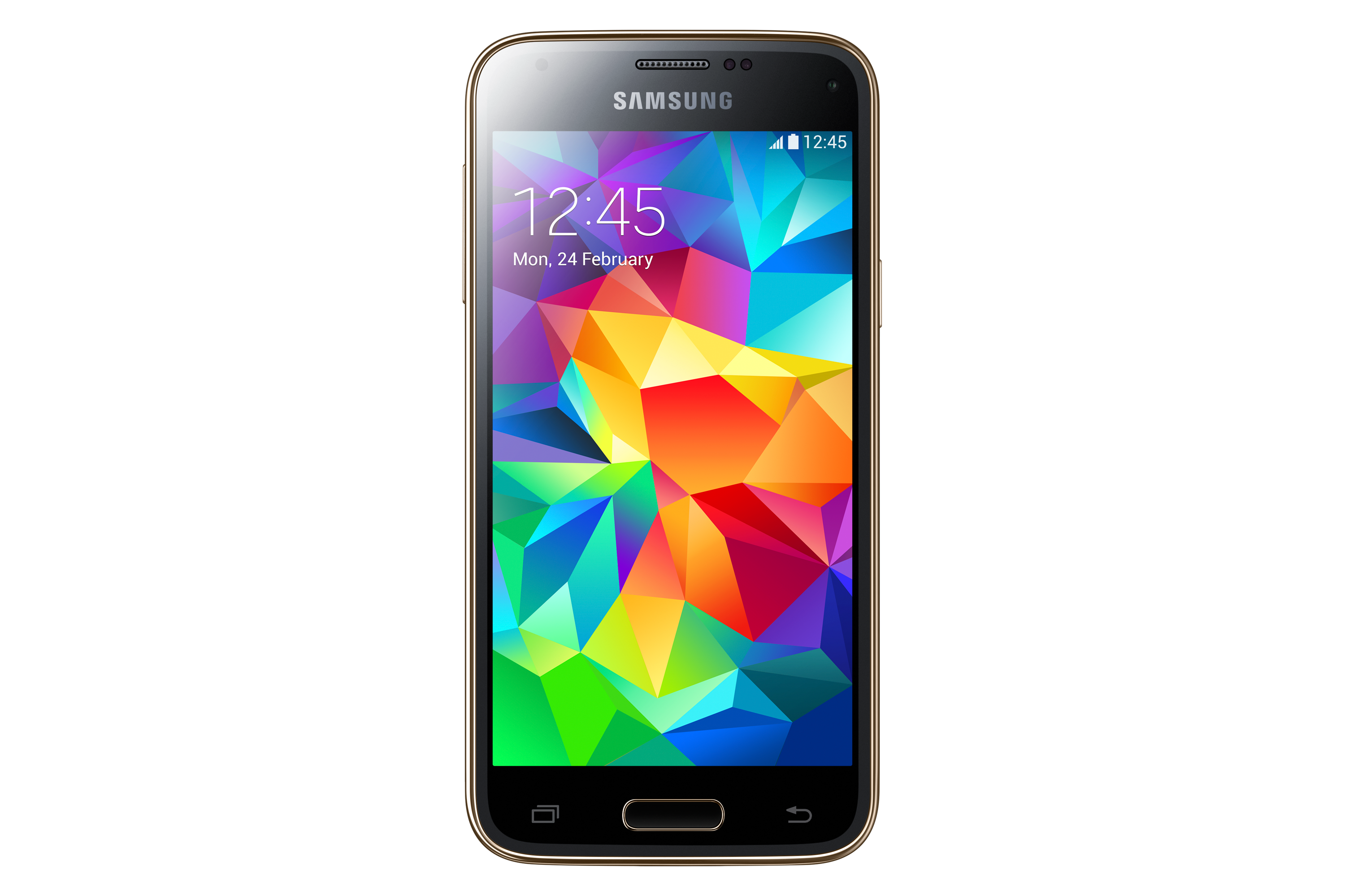 SM-G800F Galaxy S5 mini (Gold) Front