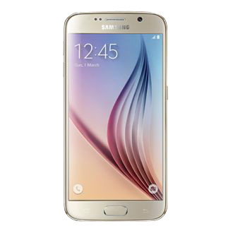 SM-G920F Galaxy S6 32GB Gold Platinum Front