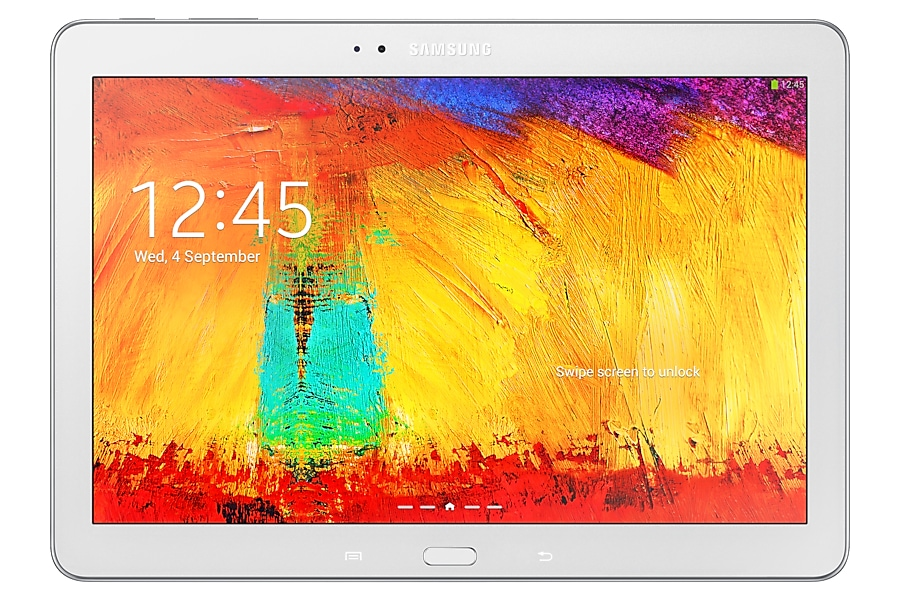 SM-P600 Galaxy Note 10.1 2014 Edition Wi-Fi (Classic White) Front