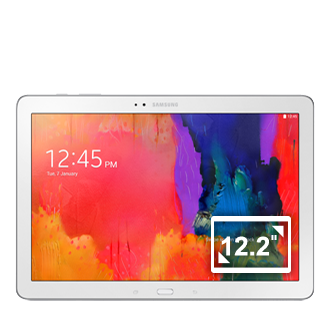 SM-P900 Galaxy NotePRO 12.2 Wi-Fi (White) Front