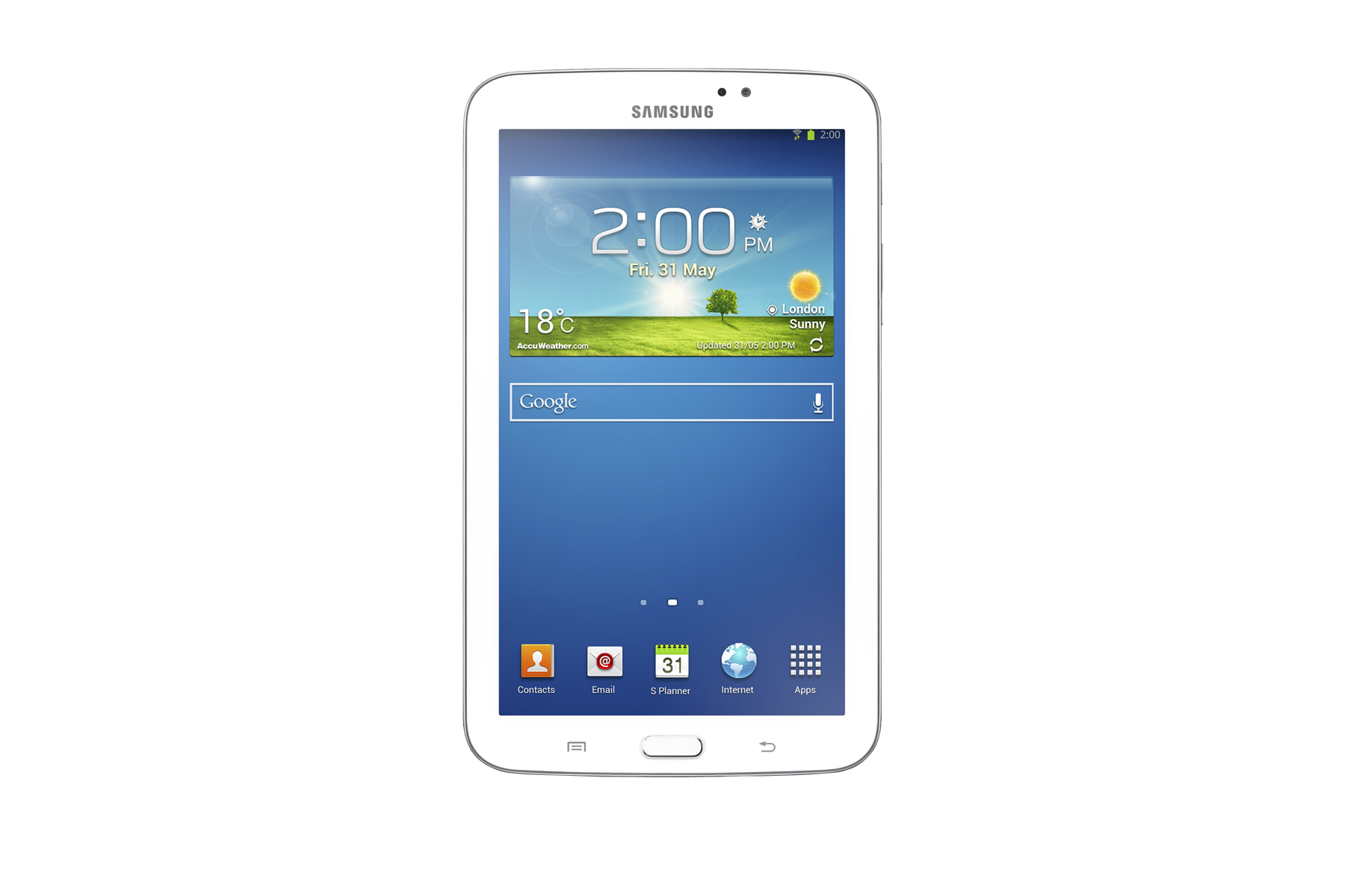 SM-T210 Galaxy Tab 3 7.0 (White)