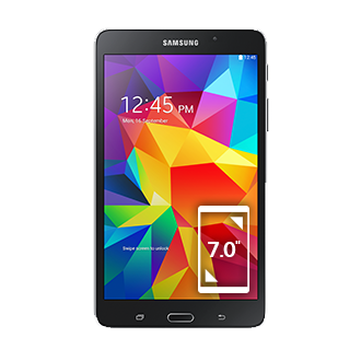 SM-T230 Galaxy Tab 4 7.0 Wi-Fi (Black)
