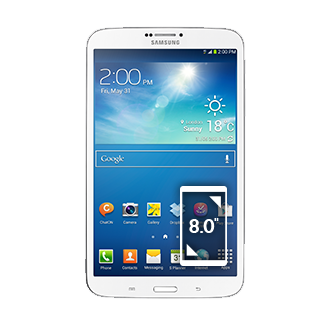 Galaxy Tab 3 8.0 4G & Wi-Fi (White)