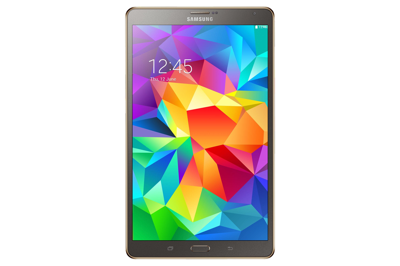 SM-T705 Galaxy Tab S 8.4 4G & Wi-Fi (Titanium Bronze) Front