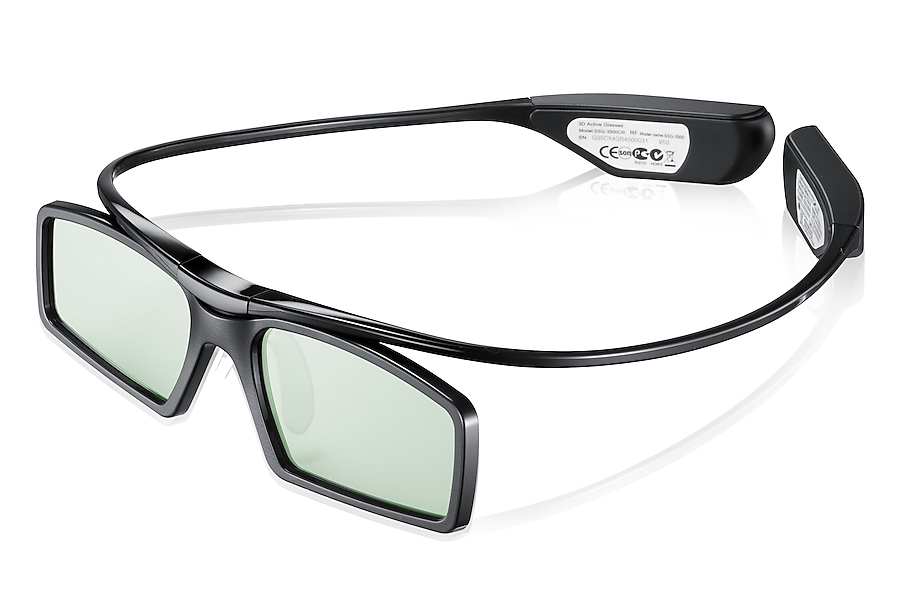 SSG-3550CR Right Angle 3D TV Glasses (USB)
