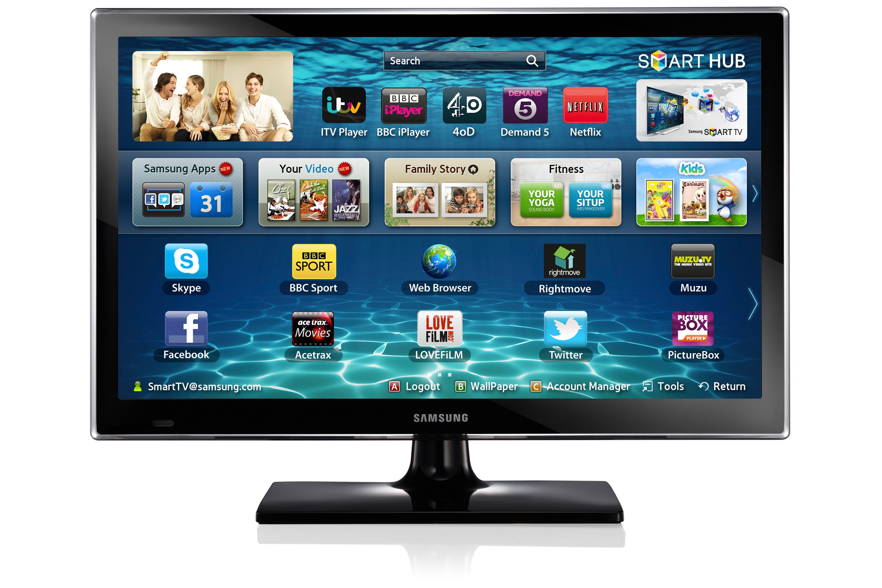 "22"" ES5400 Series 5 SMART Full HD LED TV"